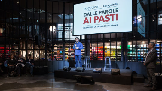 Carlo Cracco - Rise Against Hunger - Garage Italia